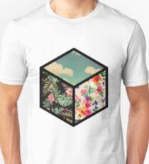Floral Vintage Cube T-Shirt