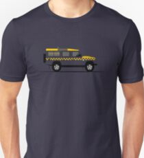 A Graphical Interpretation of the Defender 110 Station Wagon HM Coastguard T-Shirt