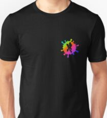 Splatoon Inkling Boy Rainbow T-Shirt