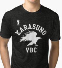 Karasuno high school VBC Tri-blend T-Shirt
