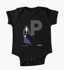 The Phantom Stranger - Superhero Minimalist Alphabet Clothing One Piece - Short Sleeve