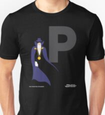 The Phantom Stranger - Superhero Minimalist Alphabet Clothing Unisex T-Shirt