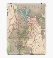 Vintage Map of The Roman Empire (1838) iPad Case/Skin