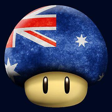 Australia Mario's mushroom by Laflagan