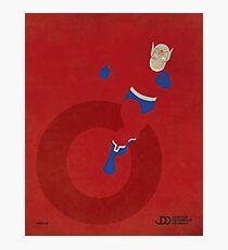 Orion - Superhero Minimalist Alphabet Print Art Photographic Print