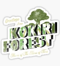 Greetings from Kokiri Forest Sticker