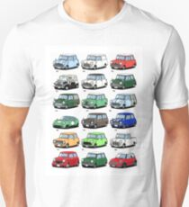Mini time line Unisex T-Shirt