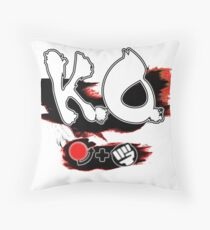 Knock Out Hadoken Throw Pillow