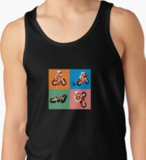 excitebike cover art Tank Top