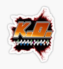 Knock Out 10 Hit Combo Sticker