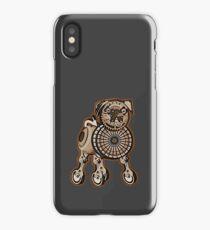 Steampunk Pug iPhone Case