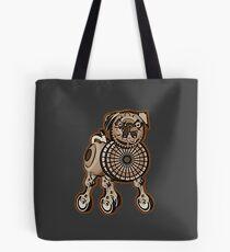 Steampunk Pug Tote Bag