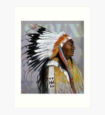 Sioux  Art Print