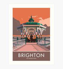 Brighton, Bandstand Art Print