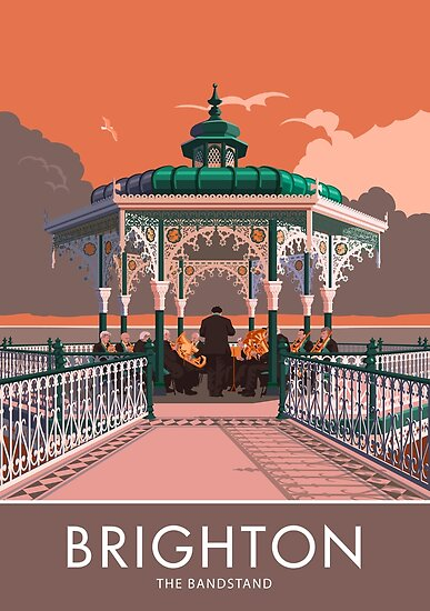 Brighton, Bandstand by Stephen Millership