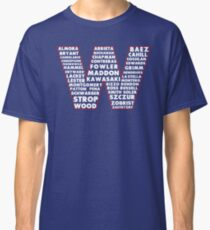 W is for Win Flag - Fun North Side Sports Roster Logo Classic T-Shirt