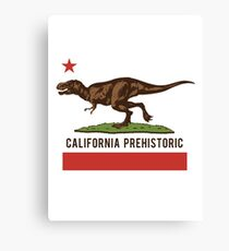 California Prehistoric Canvas Print