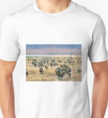 Ngorongoro Wildebeest Unisex T-Shirt