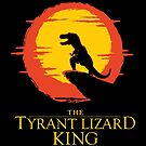The Tyrant Lizard King  by SevenHundred