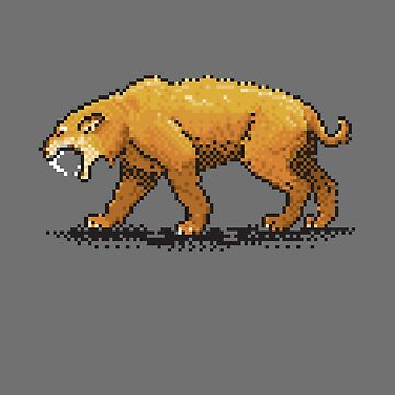 Prehistoric Pixels - Smiledon  by SevenHundred