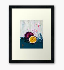 Passion of the Fruit Framed Print
