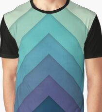 Retro Chevrons 001 Graphic T-Shirt