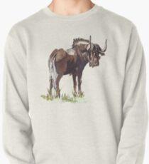 Black Wildebeest (Connochaetes gnou) Pullover