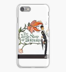 The Little Shop of Horrors vintage poster iPhone Case/Skin