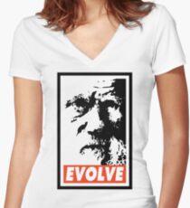 Evolve Women's Fitted V-Neck T-Shirt