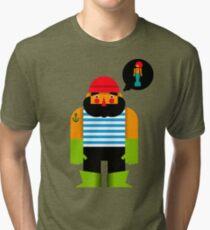 Fisherman Tri-blend T-Shirt