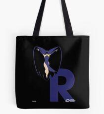 Raven - Superhero Minimalist Alphabet Clothing Tote Bag