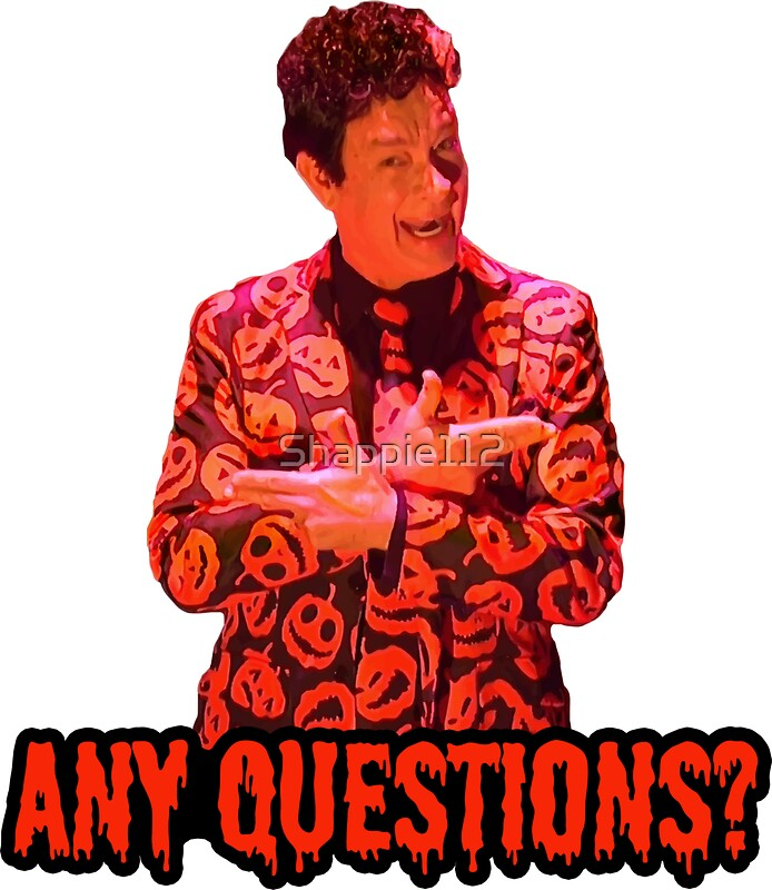Quot David S Pumpkins Any Questions Ii Quot Stickers By