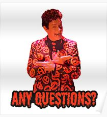 David S. Pumpkins - Any Questions? II Poster