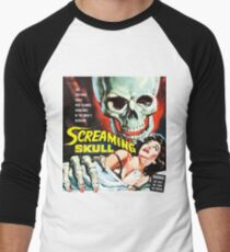 The Screaming Skull vintage movie poster Men's Baseball ¾ T-Shirt
