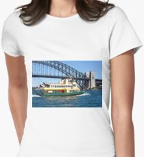 Sydney Ferry and Harbour Bridge New South Wales Australia  T-Shirt