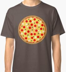 Cool and fun vector pizza Classic T-Shirt