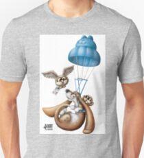 Flying basset Unisex T-Shirt