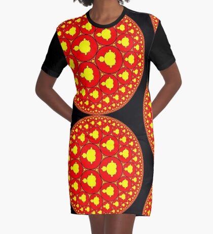 Mandelorb Graphic T-Shirt Dress