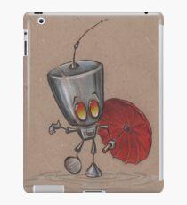 Puddle Stomping Robot  iPad Case/Skin