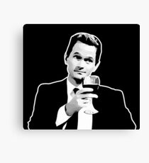 Barney Stinson How I Met Your Mother Canvas Print