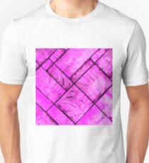 Pink Parquet Floor Unisex T-Shirt