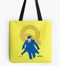 The Question - Superhero Minimalist Alphabet Clothing Tote Bag
