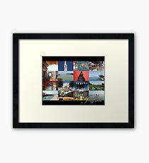 Glimpses Jaffna Framed Print