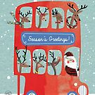 Santa's Bus by Holly Hatam