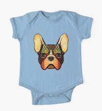 little bulldog Baby Body Kurzarm