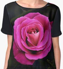 Rose Women's Chiffon Top