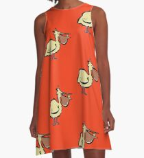 can you trust a pelican? A-Line Dress