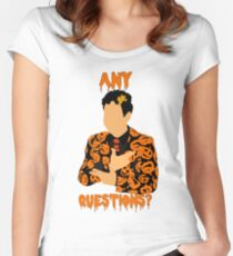 David Pumpkins-SNL Women's Fitted Scoop T-Shirt