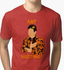 David Pumpkins-SNL Tri-blend T-Shirt