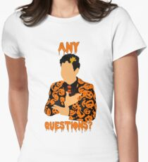 David Pumpkins-SNL Women's Fitted T-Shirt